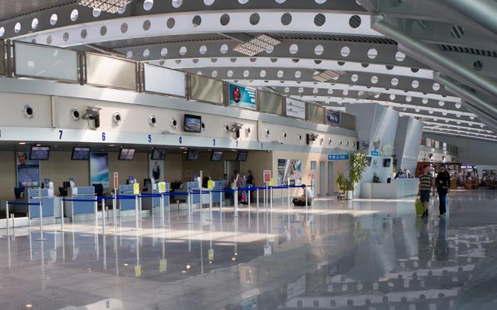 Instalaciones del aeropuerto de Podgorica