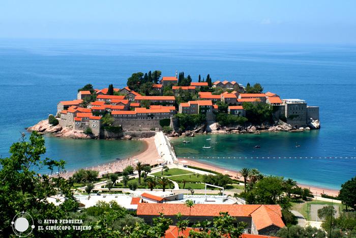 Isla de Sveti Stefan