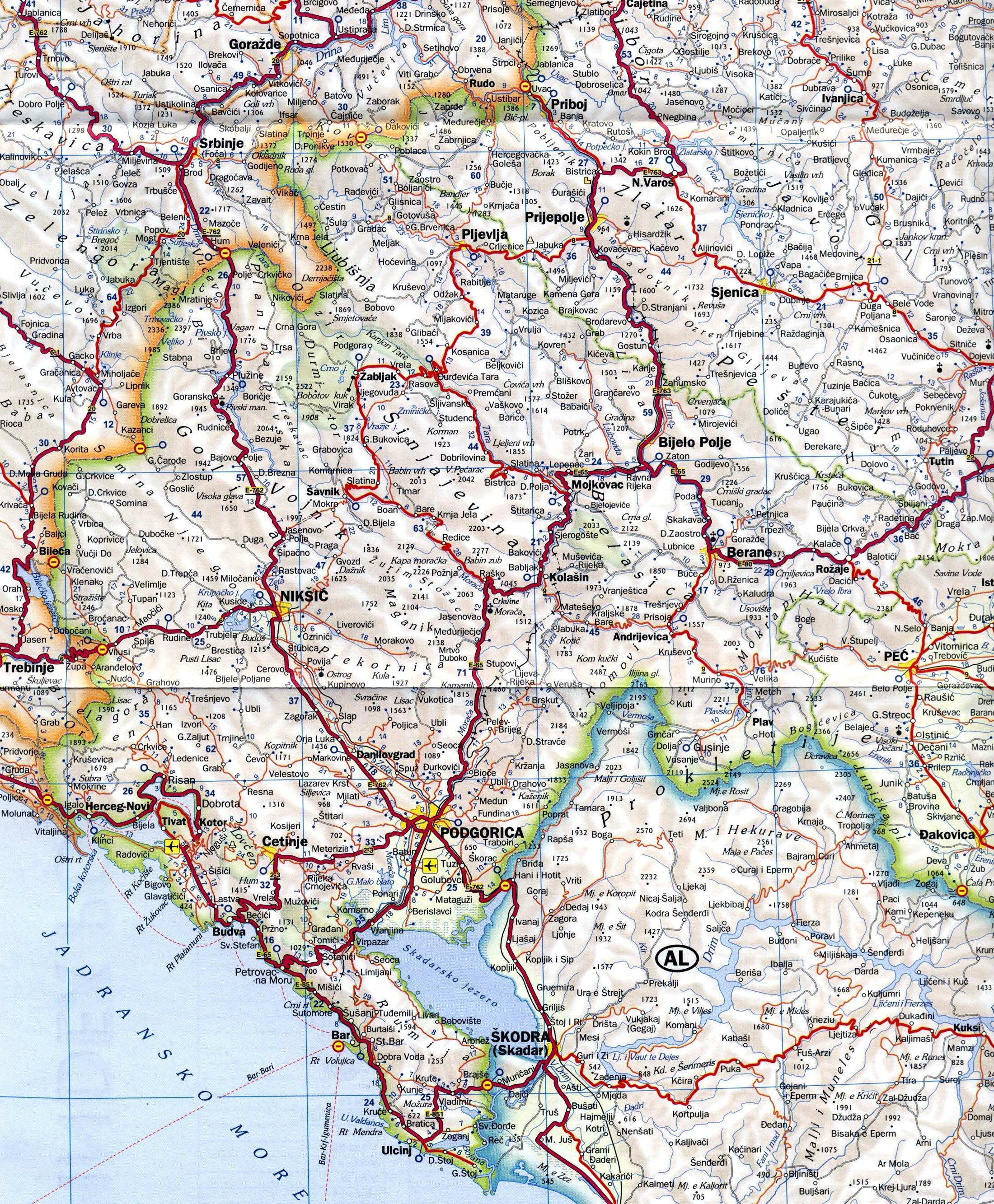 Como Llegar A Montenegro Guia De Turismo De Montenegro