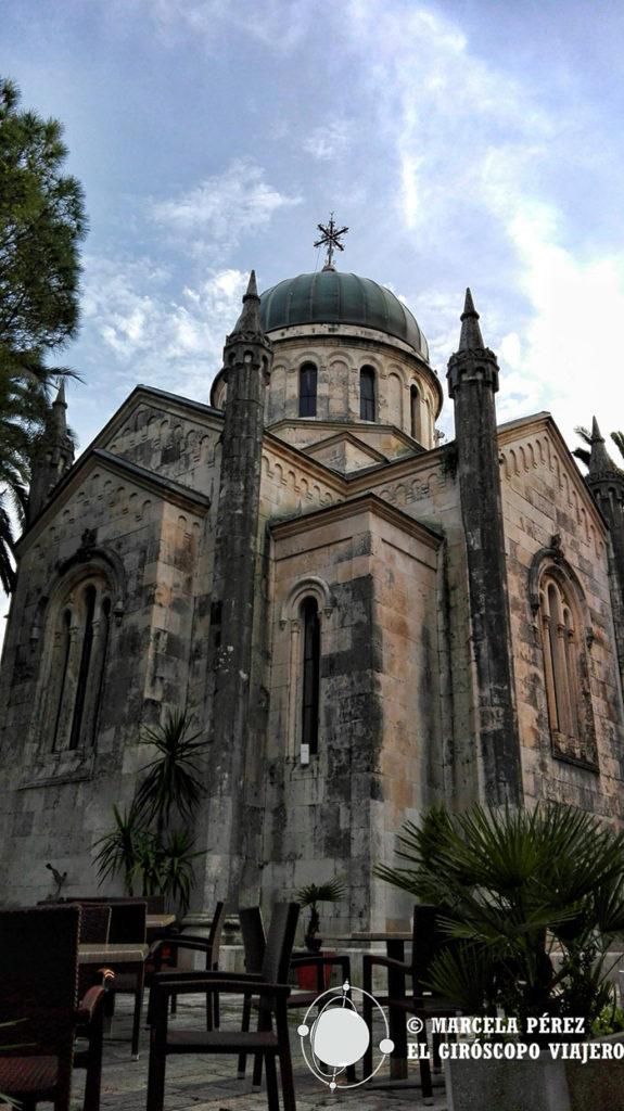 La iglesia ortodoxa del Arcángel Miguel