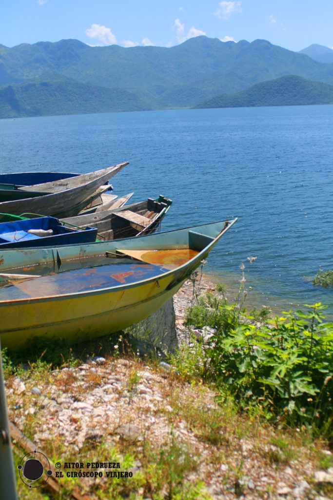 Lago Skadar, al sur de Montenegro