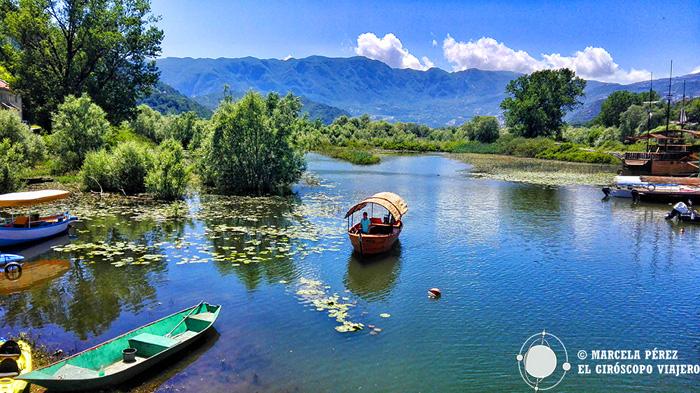 Excursiones en barco en el lago Skadar