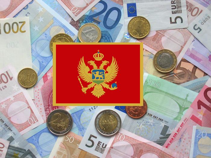 El euro, moneda de Montenegro